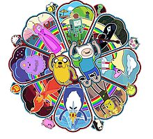 Adventure time mosaic by ferteban