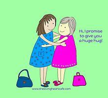 Hug Promise by LovingHeartCafe