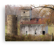 Abandoned Barn - Abadoned Buildings Challenge Winner Canvas Print