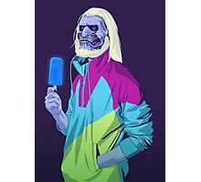 GAME OF THRONES 80/90s ERA CHARACTERS - White Walker Photographic Print