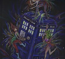 TARDIS 1 by DawnFairies