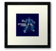 Optimus Time Framed Print