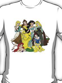Splattered Disney Princesses T-Shirt