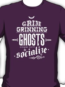 Haunted Mansion - Grim Grinning Ghosts T-Shirt