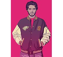 GAME OF THRONES 80/90s ERA - Robb Stark Photographic Print