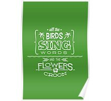 Enchanted Tiki Room - Sing Along Poster