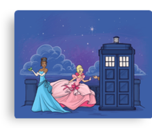 The Princess and the Doctor Canvas Print