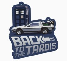 Back To The Tardis by bekemdesign