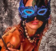 BLUE MASK   ... by NUDEIMPACT
