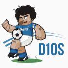 Diego Armando Maradona T-Shirt! by Diego Riselli
