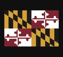 Maryland State Flag by USAswagg