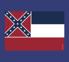 Mississippi State Flag by USAswagg