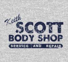 Keith Scott Body Shop Logo T-Shirt