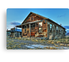 The Old Wendel General Store Canvas Print