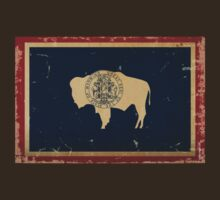 Wyoming State Flag VINTAGE by USAswagg2