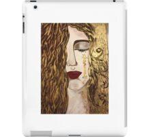 Golden Tears. iPad Case/Skin