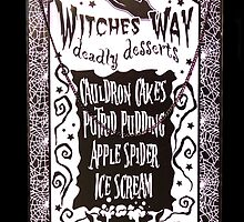 Witch Dessert Menu Halloween by MMPhotographyUK