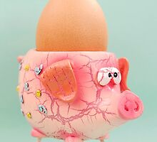 Pig Eggcup by MMPhotographyUK