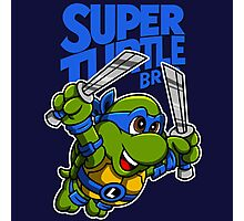 Super Turtle Bros - Leo Photographic Print