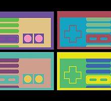 Pastel NES by jcohendesign