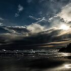 A Stormy Day at Whiskey Bay Beach by photograham