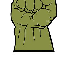 Hulk Fist by monsterdesign