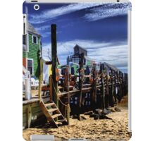 Careful of the long walks on the short pier iPad Case/Skin