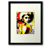 Butterfly Headcase Framed Print