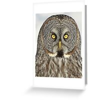 Bet you'll blink first Greeting Card