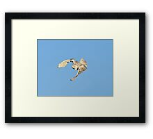 Exhibiting the power within Framed Print