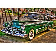 1948 Cadillac-side view full Photographic Print