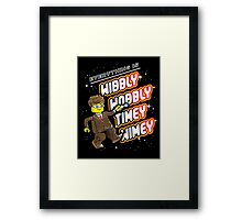 Everything is TIMEY WIMEY! Framed Print