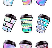 Coffee Cups by stephcheydesign