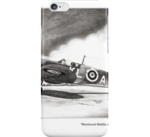 Restored Battle of Britain Spitfire iPhone Case/Skin