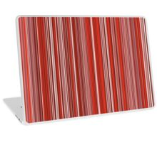 Many colorful stripe pattern in red on Laptop Skins by pASob-dESIGN | Redbubble