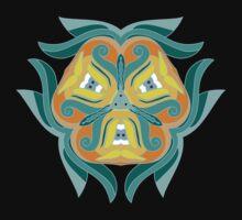 Psychedelic jungle kaleidoscope ornament 1 T-Shirt