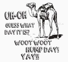 Hump Day Camel Funny T-shirt Guess What Day It Is Funny Tee Shirt by beardburger