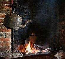 Homestead kitchen. by Jeanette Varcoe.