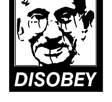 Gandhi DISOBEY by tinaodarby