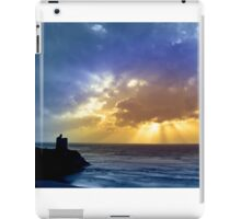 Castle and cloud beams iPad Case/Skin