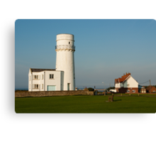 Hunstanton Lighthouse, Norfolk, UK Canvas Print