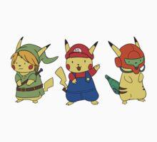 Nintendo Pikachus Kids Clothes