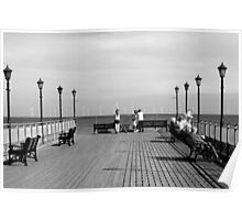 Pier End View, Skegness Poster