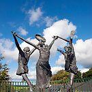 children of lir statues by morrbyte