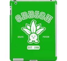 Oddish - College Style iPad Case/Skin