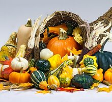 Cornucopia of Thanksgiving by Kenneth Keifer