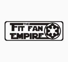 The Fit Fan Empire (black logo) by mistermunny