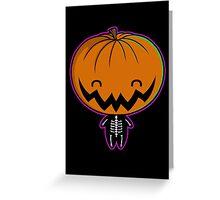 Cutie Pumpkin Pie Greeting Card