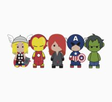 Little Avengers Cartoon by rasgadow