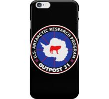 U.S. Outpost 31 Research Installation iPhone Case/Skin